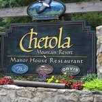 Entrance to Chetola Resort, Blowing Rock, NC