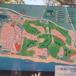 Plan de l'urbanisation de Playa Ballena