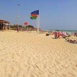 une partie de la plage de Playa Ballena