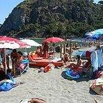 la spiaggia libera di San Montano