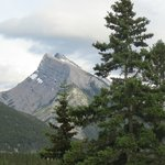 Mt Rundle, view from the patio