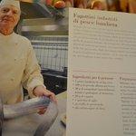 Chef featured in cookbook