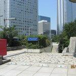 Underpass to Tokyo Metropolitan Building