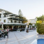 Anasatia Hotel at the eveing meal time