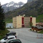 Парковка отеля