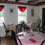 Quaint Dining Area Decorated with Period Furniture