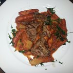 Gnoquis with cow meat.... Delicious