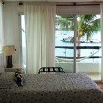 Habitación frente al mar...!