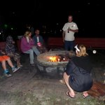 S'mores by the bonfire