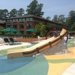 Slide at Woodlands Pool/Splash Pad