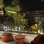 Zaffran Terrace overlooking CP