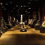 la sala delle statue