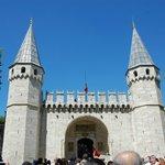 The Gate of Salutation at Topkapi Palace