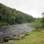 River Tees just downstream from the High Force waterfall