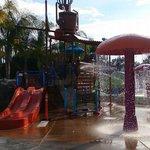 Zona acuática para niños
