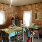Interior de la casa de Elvis, cocina/comedor
