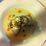 Atún con crema de sardinas