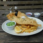 Fish & Chips at The Fountainhead August 1st 2014