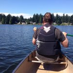 Take a canoe out!!!