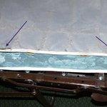 WORN MATTRESS ON SOFA BED