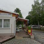 Camping Dresden-Mockritz la reception
