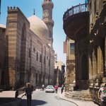 Moez Street the road to Le Riad Old Town Cairo