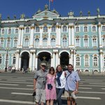 Catherine Palace, David, Lesley, Kirstie, David