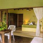 Main bedroom of Villa Indio, our 2BR villa