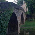 The bridge with cross