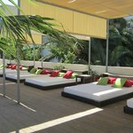 The Day Beds by the Pool