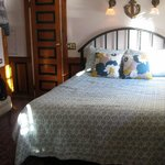 Our bedroom on the tugboat.