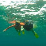 My buddy and I on the snorkel tour