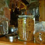 The Rock Island Lodge Granola is great!