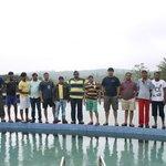 Team Photo on Swimming Pool