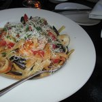Spicy Linguine Pasta & Prawns