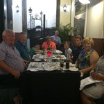 Fantastic meal with friends