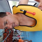 Putting on lifejacket! Requirement