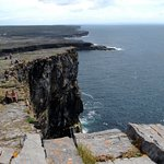 View from Dun Aengus looking south/south west
