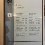 orari e prezzi 2014