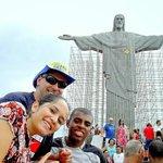 DALTRO VIEIRA NO RIO DE JANEIRO - BRASIL. CRISTO REDENTOR COM MARCOS & RAISSA. (Em 2010)!