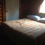 Bedroom 1 in cabin 3