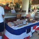Cigars sold at the bar