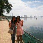 Me and Sorah of Hanoi Kids
