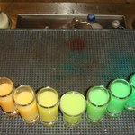Rainbow Shots at Preferred Club Bar