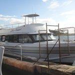 Leilani at the dock