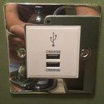 Bedside charging station - genius!