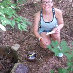 geocaching at Chehaw (3 within the park & several just outside the park)