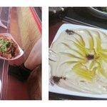 Comida en bedouin Garden Village