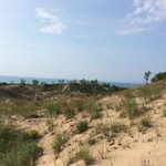 Hiking on the dunes!