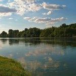 les berges de la Dordogne